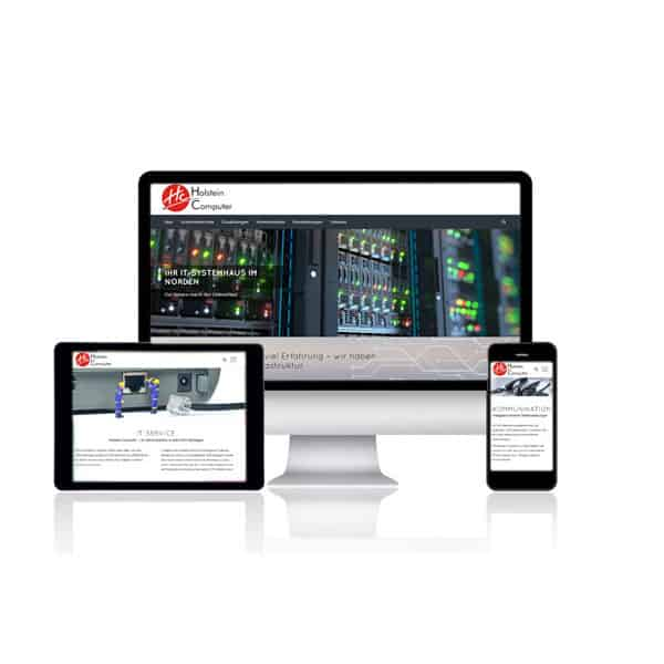Website für Holstein Computer Nortorf