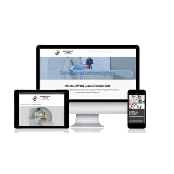 Website Relaunch Radiologische Praxis Neumünster