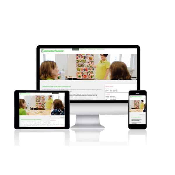 Website für Diabeteszentrum Neumünster