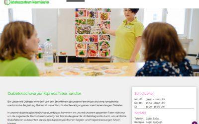 Projekt live: Diabeteszentrum Neumünster