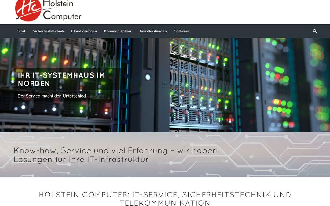 Projekt live: Holstein Computer Nortorf