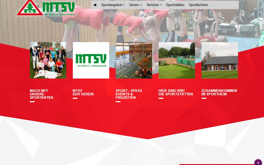 Projekt live: MTSV Hohenwestedt e. V.