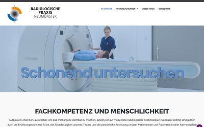 Projekt live: Radiologische Praxis Neumünster