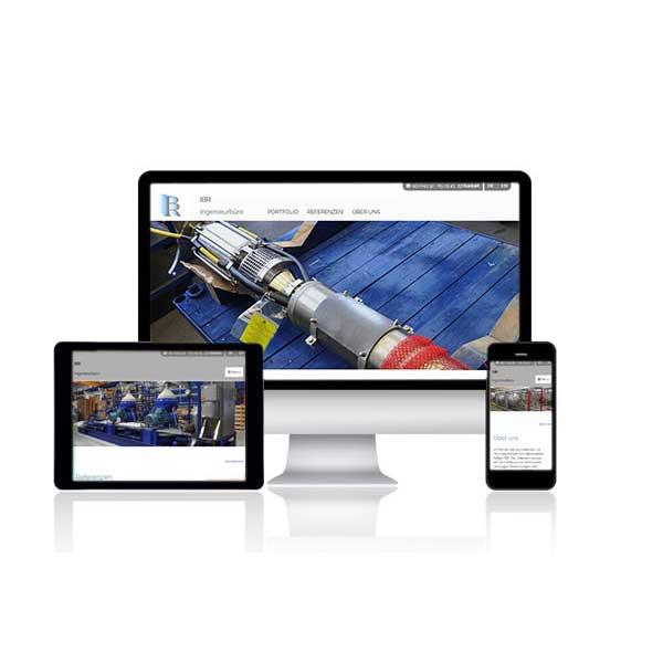 Website-Referenz Ingenieurbüro Rathjen - Gnutz