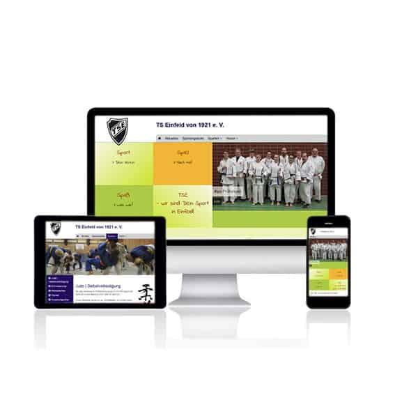 Website Relaunch für TS Einfeld