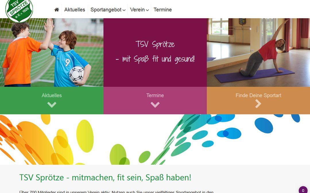Projekt live: TSV Sprötze e. V.