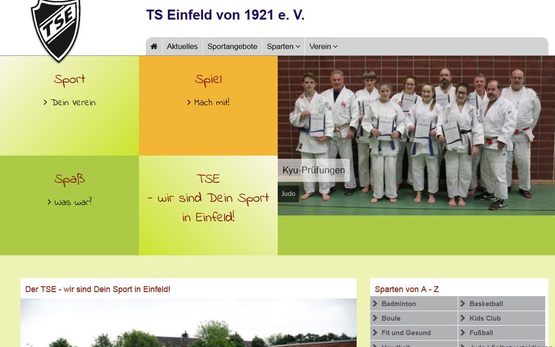 Projekt live: TS Einfeld