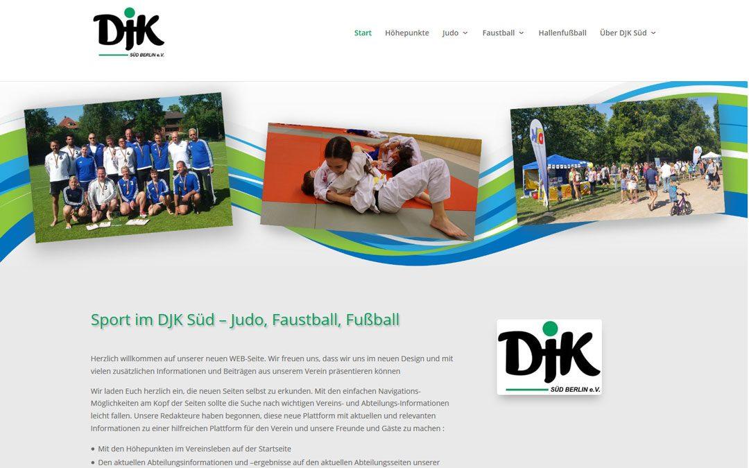 Projekt live: DjK Süd Berlin
