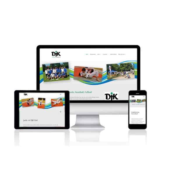 Website Relaunch für Sportverein DJK Süd Berlin