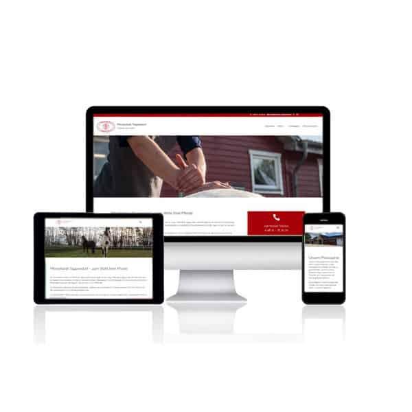 Website Relaunch für Pferdeklinik Tappendorf