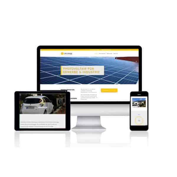 Website Referenz PV Gewerbestrom