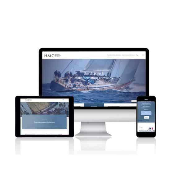 Website-Erstellung für Hennschen Management Consulting