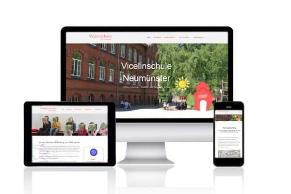 Referenz Vicelinschule Neumünster