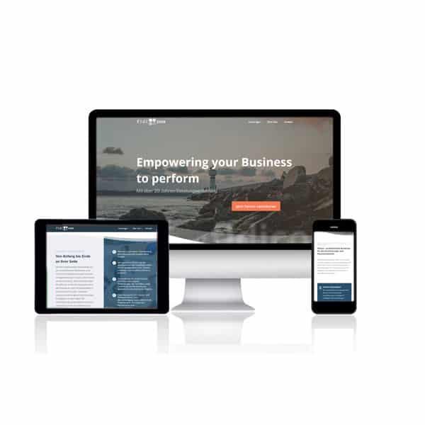 Website für fidicon GmbH
