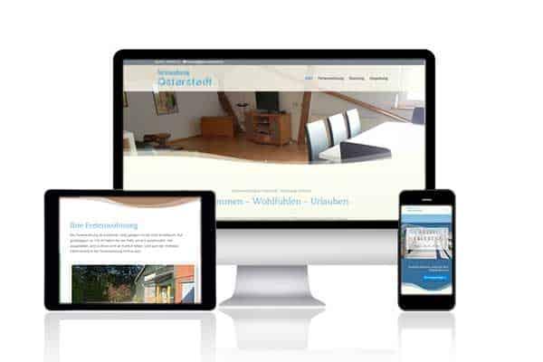Webdesign-Referenz Ferienwohnung Osterstedt