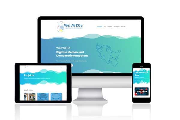 webwirbel-Projekt WeltWEGe