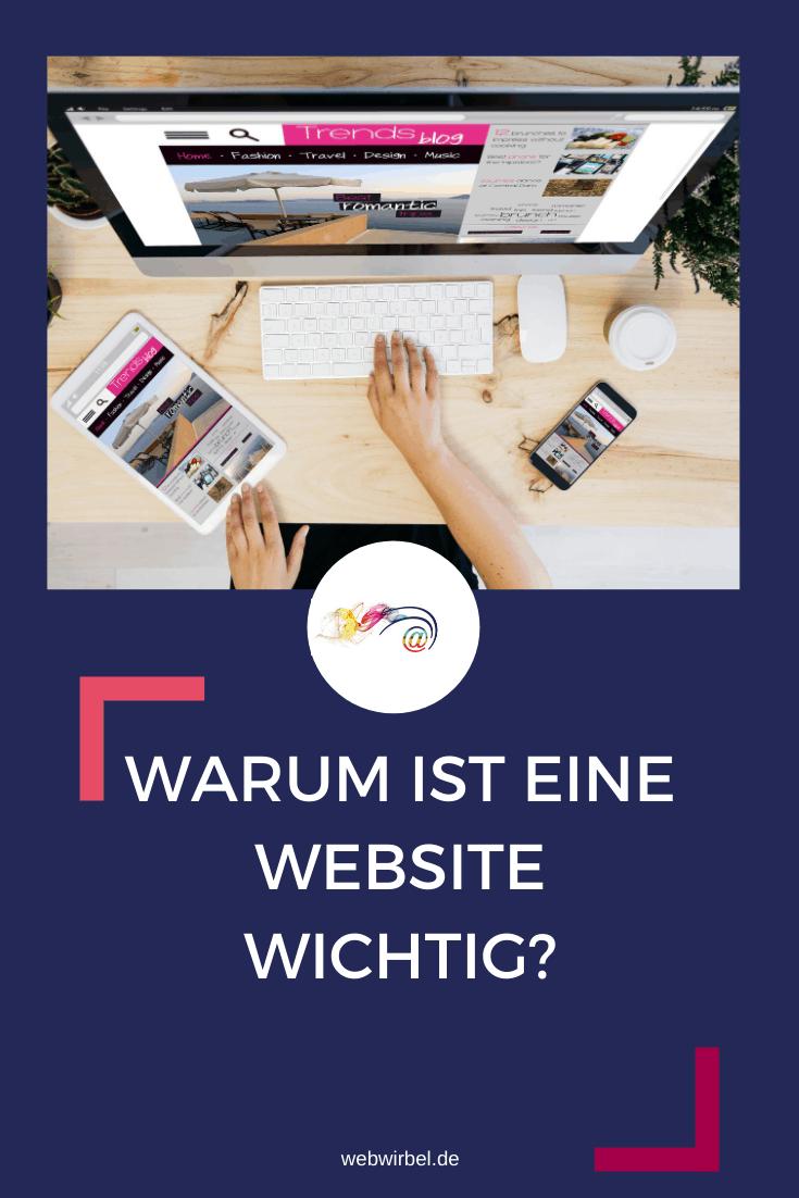 Warum ist eine Homepage wichtig