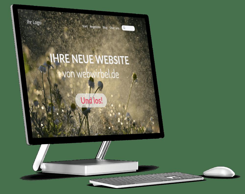 Webdesign-Agentur webwirbel.de - für starke Internetseiten
