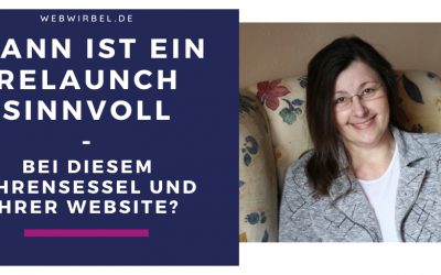Wann ist ein Website-Relaunch sinnvoll?