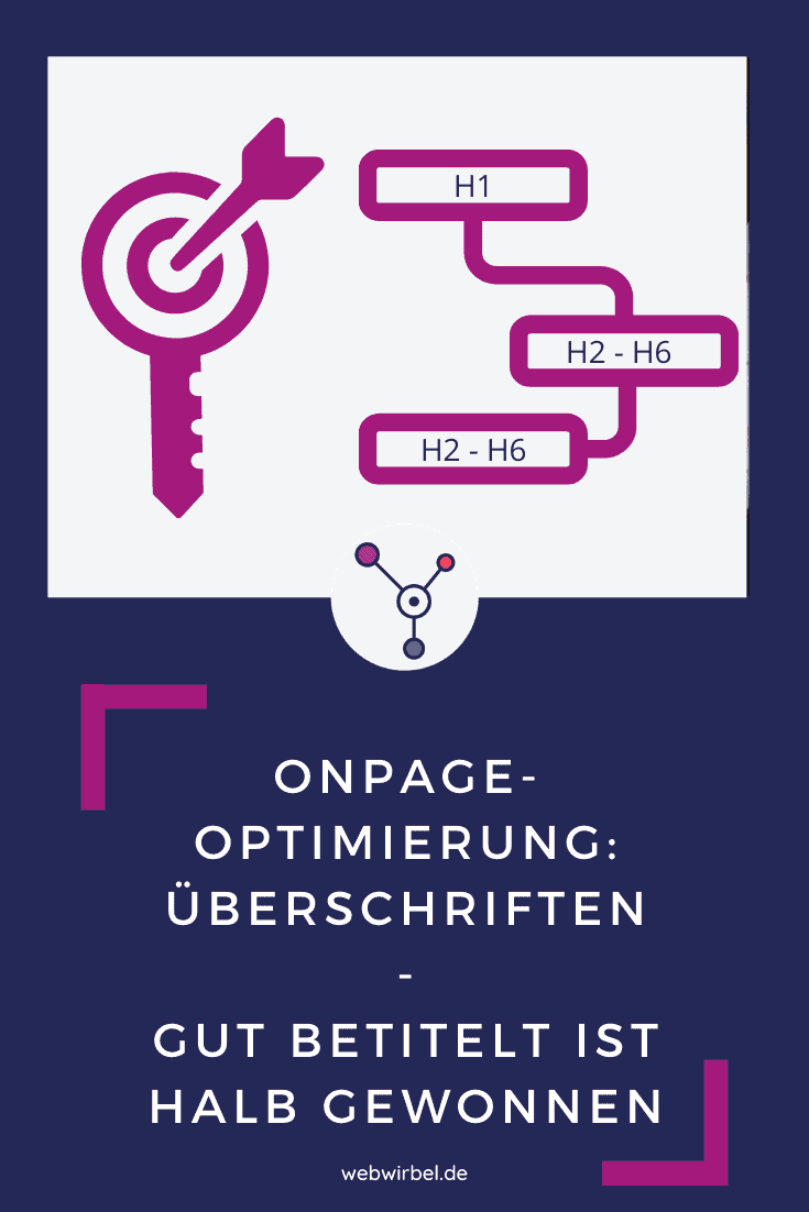 Onpage-Optimierung - Überschriften
