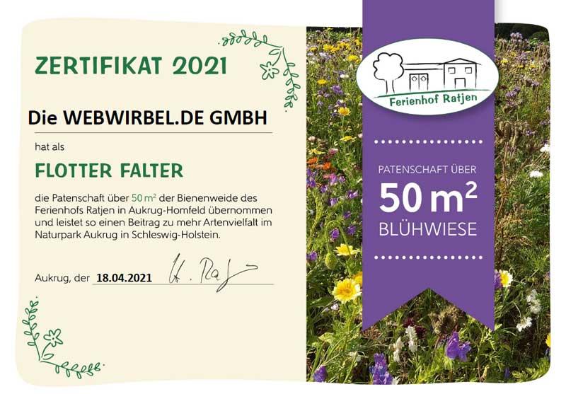 Blühpatenschaft webwirbel.de