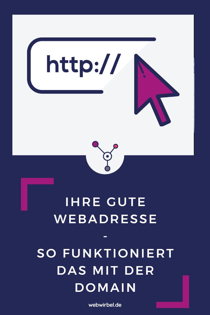 Domain - Ihre gute Webadresse